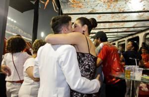 Claudia Raia e Jarbas Homem de Melo comemoram um ano de namoro no Carnaval