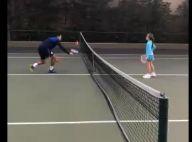 Ticiane Pinheiro filma a filha, Rafa Justus, em 1ª aula de tênis: 'Orgulhosa'