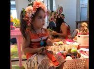 Deborah Secco mostra a filha vestida de Moana em festa em casa. Vídeo!