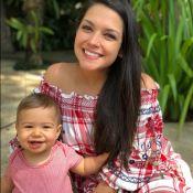 Thais Fersoza mostra ansiedade para Teodoro falar 'mamãe': 'Me chama de 'papai''