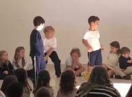 Neymar mostra filho, Davi Lucca, dançando com amigos: 'Apresentação da escola'