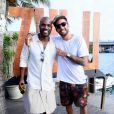 Marido de Luana Piovani, Pedro Scooby curte festa de aniversário de 36 anos do ator Rafael Zulu, realizada  no Beach Club, na Barra da Tijuca, zona oeste do Rio de Janeiro, neste domingo, 9 de setembro de 2018