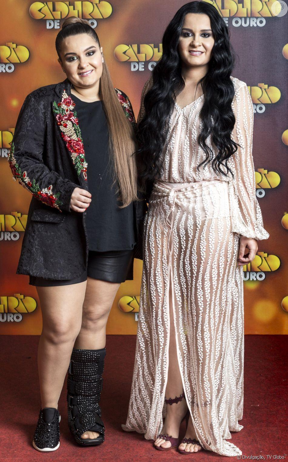 Maiara e Maraisa explicam looks grifados em shows: ' A gente se reflete não só pelas nossas músicas, mas também pela nossa arte'