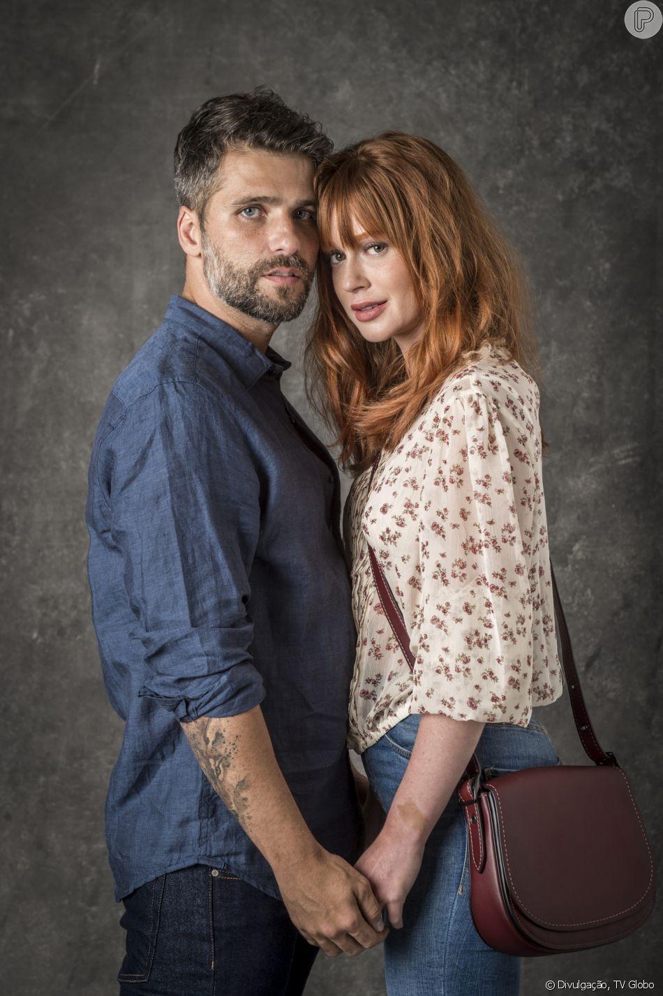 Bruno Gagliasso e Marina Ruy Barbosa também vão interpretar um casal em  O  Sétimo Guardião  4a47a322a9b42