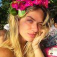 Giovanna Ewbank comemorou aniversário de 32 anos cercada de familiares em Caraíva, na Bahia