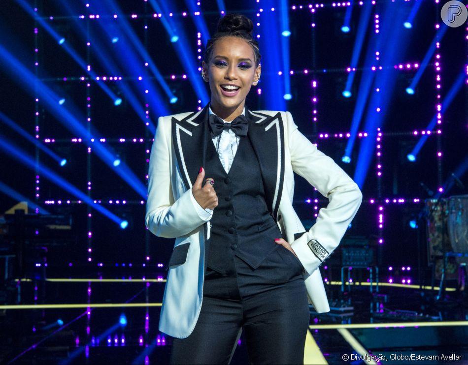 Tais Araújo estreou como apresentadora do dominical 'Popstar' neste domingo, 16 de setembro de 2018