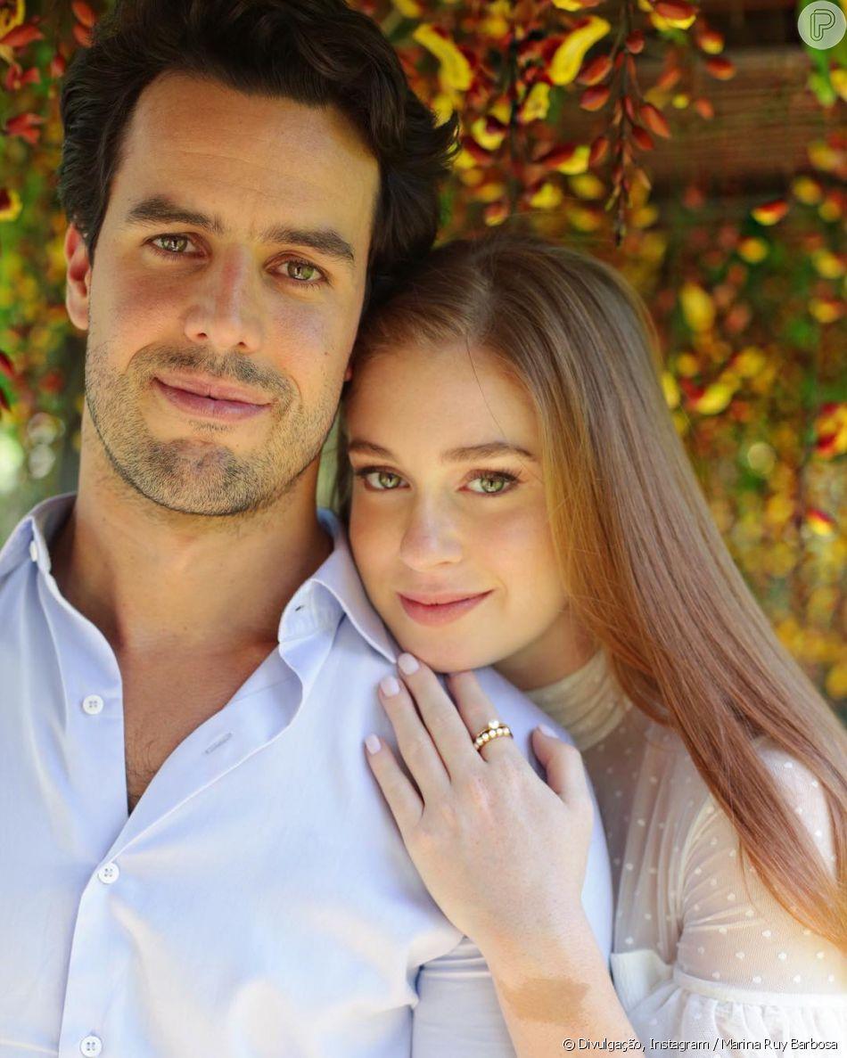 Marina Ruy Barbosa comemora um ano de casada com Xadinho Negrão