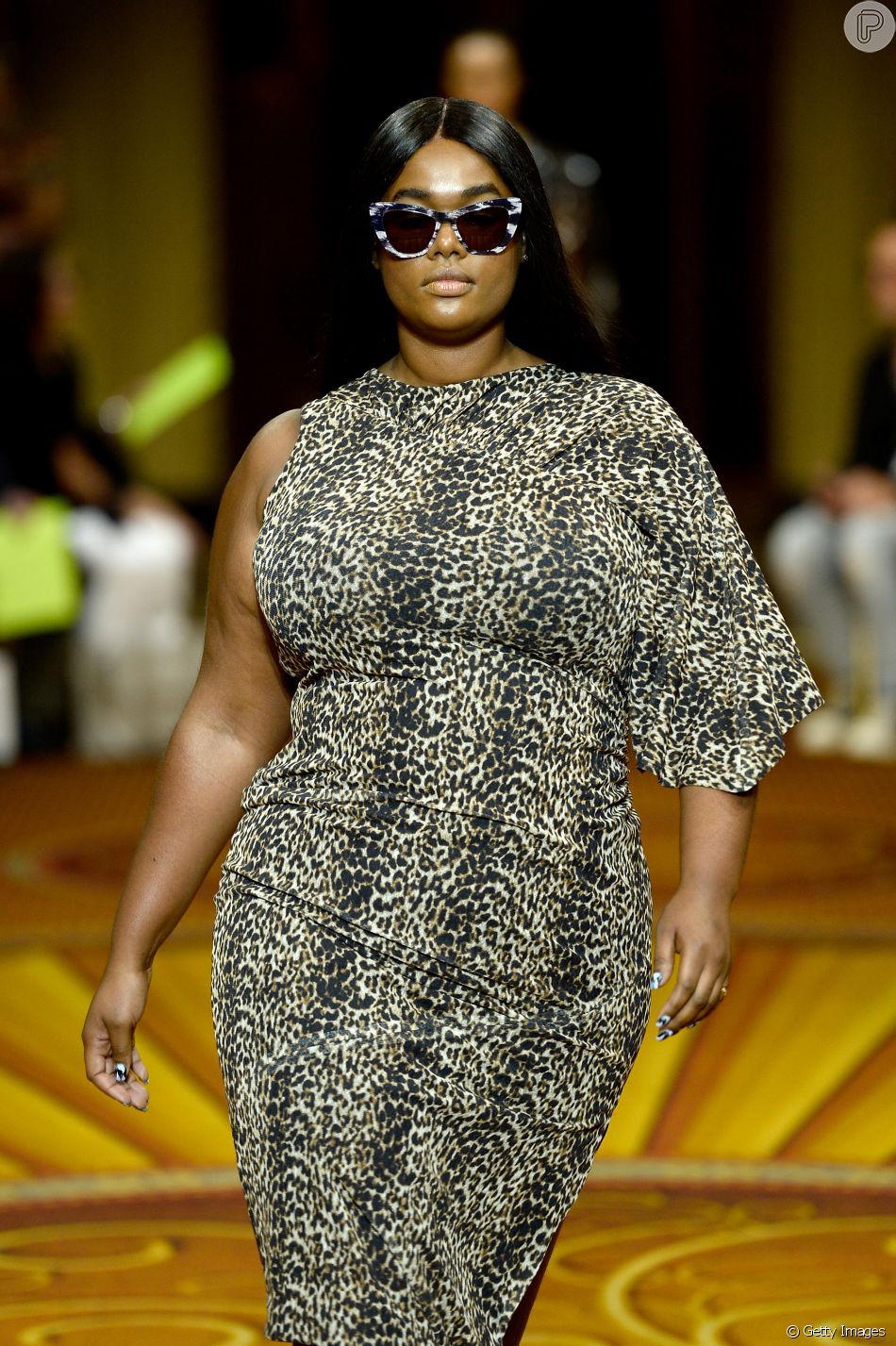 cd4fba71e8 Christian Siriano abusou das estampas de animal print para a coleção  spring-summer 2019 na