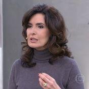 Fátima Bernardes exclui pessoas de rede social: 'Tem que saber respeitar'