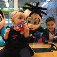 Eliana homenageou o filho, Arthur, em aniversário de 7 anos