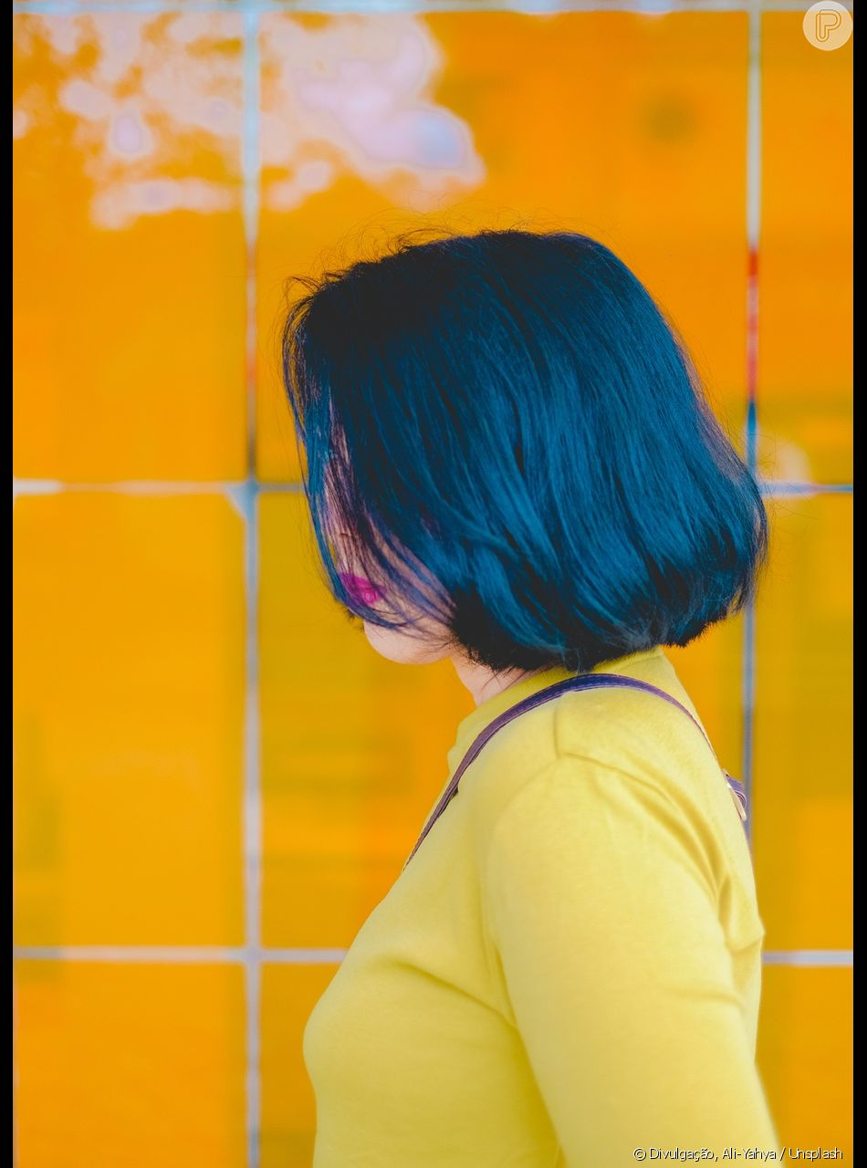 O azul é uma das cores fantasia favoritas das mulheres