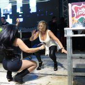 De cabelos curtos, Susana Vieira dança até o chão em baile funk: 'Minha praia'