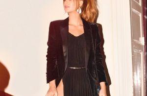 União fashion! Marina Ruy Barbosa elege look curto Alaïa e blazer YSL em Paris