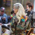 Ke$ha, sexy e trash, se apresenta no 'Today Show' em Nova York em 20 de novembro de 2012