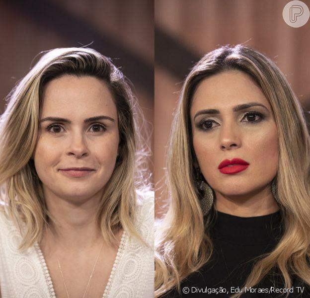 Ana Paula Renault e Nadja Pessoa trocaram acusações e brigaram ao vivo durante a formação da Roça de 'A Fazenda' desta segunda-feira, 1º de outubro de 2018