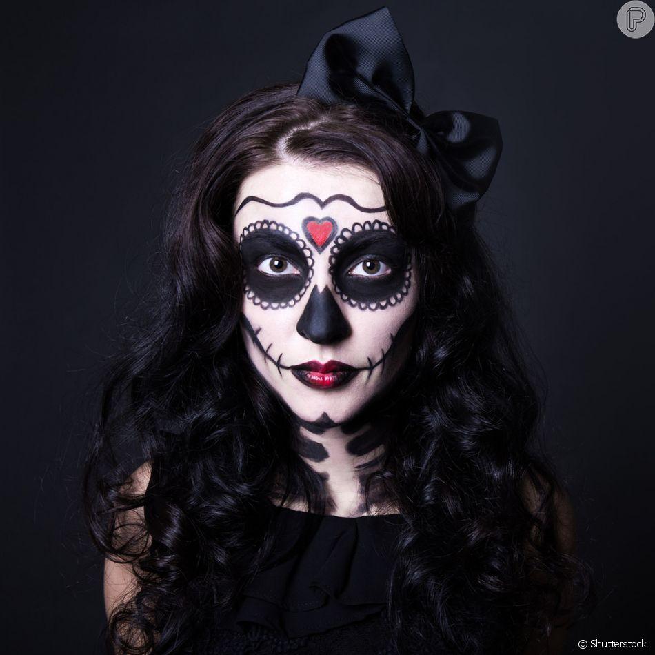 Maquiagem De Halloween Aprenda O Passo A Passo De Três Maquiagens