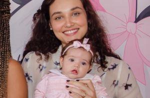 Débora Nascimento cita desafio com introdução alimentar da filha: 'Ciuminho'