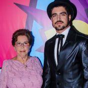 Caio Castro dedica prêmio do PJB 2018 à avó: 'Você que fez acontecer'. Vídeo!