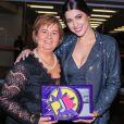 Vivian Amorim ganhou o prêmio de Melhor Apresentadora do Prêmio Jovem Brasileiro