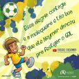 Em junho, Alinne Rosa lançou a música 'Chegue Chegando', que cita Neymar