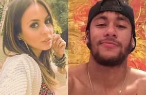 Alinne Rosa viaja de férias para Barcelona a convite de Neymar: 'Está rolando'
