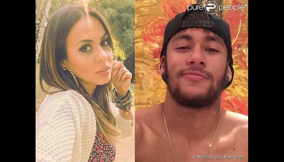 Alinne Rosa viaja de férias para Barcelona a convite de Neymar: 'Está rolando' (19 de agosto de 2014)