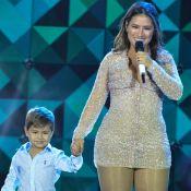 Filho de Simone cria música após não ganhar brinquedo: 'Tentando me conquistar'