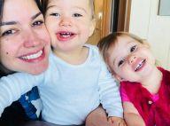 Filha de Thais Fersoza, Melinda conta que cuida do irmão, Teodoro: 'Carinho'