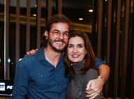 Fátima Bernardes comemora mudança no visual do namorado: 'Ele aceitou'