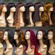 No Outubro Rosa, veja como são feitas as perucas que recuperam a autoestima de mulheres