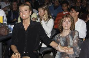 Dona Alda Meneghel, mãe de Xuxa, recebe alta de hospital no Rio
