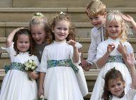 Em casamento, princesa Charlotte esbanja fofura e príncipe George se diverte