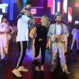 Aline Gotschalg e Fernando Medeiros comemoraram três anos de casado nestedomingo, 14 de outubro de 2018