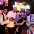 Aline Gotschalg e Fernando Medeiros levam o filho, Lucca, ao circo Abracadabra no Via Parque, na Barra da Tijuca, Rio de Janeiro, neste domingo, 14 de outubro de 2018