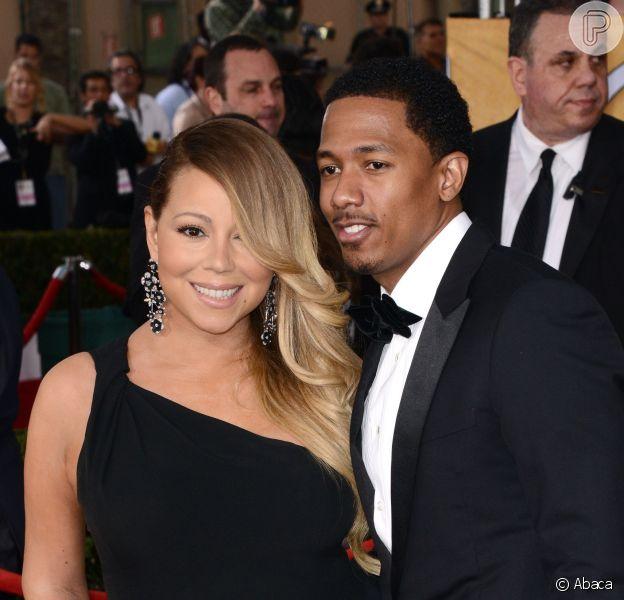Mariah Carey e Nick Cannon estão separados há alguns meses, em 22 de agosto de 2014