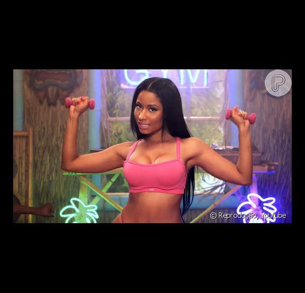 Nicki Minaj tem mais de 30 milhões de visualizações com o clipe 'Anaconda' (22 de agosto de 2014)