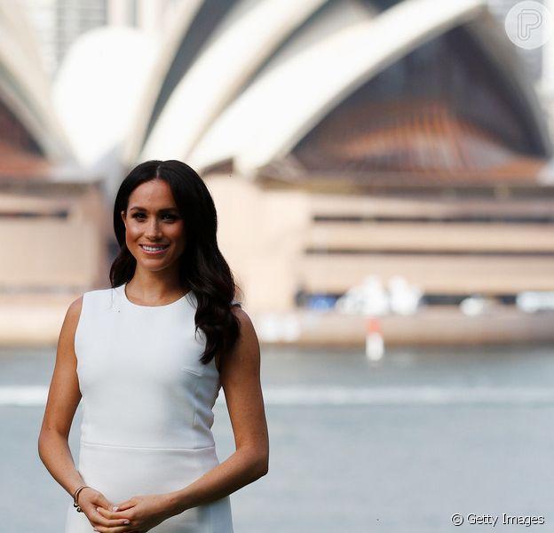 Meghan Markle é parabenizada pela equipe de 'Suits' por gravidez:'Enviando amor'
