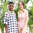 A marca ESC, de beachwear carioca, também desfilou no primeiro dia de Veste Rio
