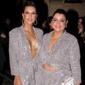 Pluralidade da moda: Mariana Rios e Preta Gil usam looks iguais em evento. Veja!