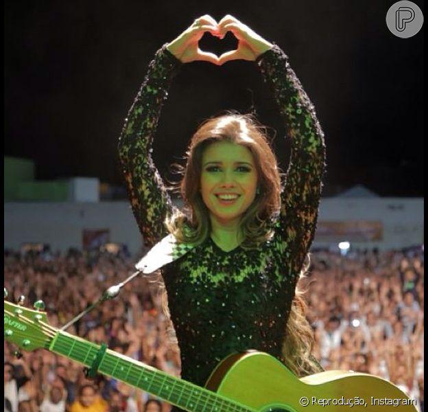 Paula Fernandes completa 30 anos nesta quinta-feira, 28 de agosto de 2014
