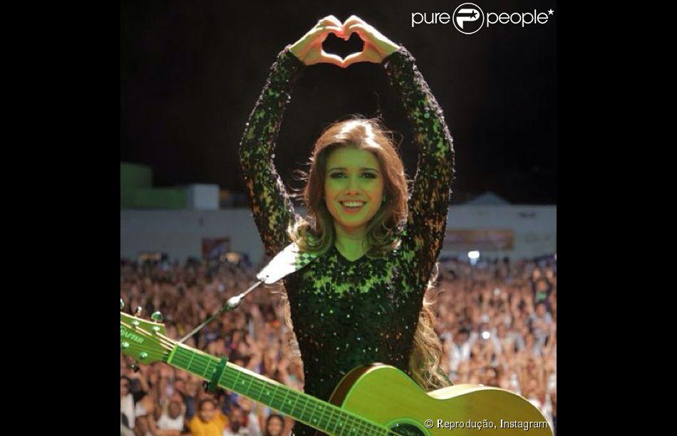 d5b95b406 Paula Fernandes completa 30 anos nesta quinta-feira, 28 de agosto de 2014