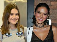 Maisa Silva comenta pedido de amizade de Bruna Marquezine: 'Aff, que sonho!'