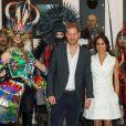 Meghan Markle e príncipe Harry estiveram em uma escola de cinema na Nova Zelândia