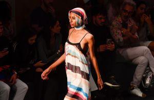 Vestidos longos são tendência nas passarelas do Minas Trend