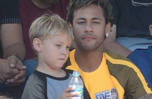 Neymar conta briga do filho na escola: 'Ninguém acreditou que eu era pai dele'