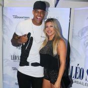 Juntos de novo! Léo Santana reata namoro com Lorena Improta e a beija em vídeo