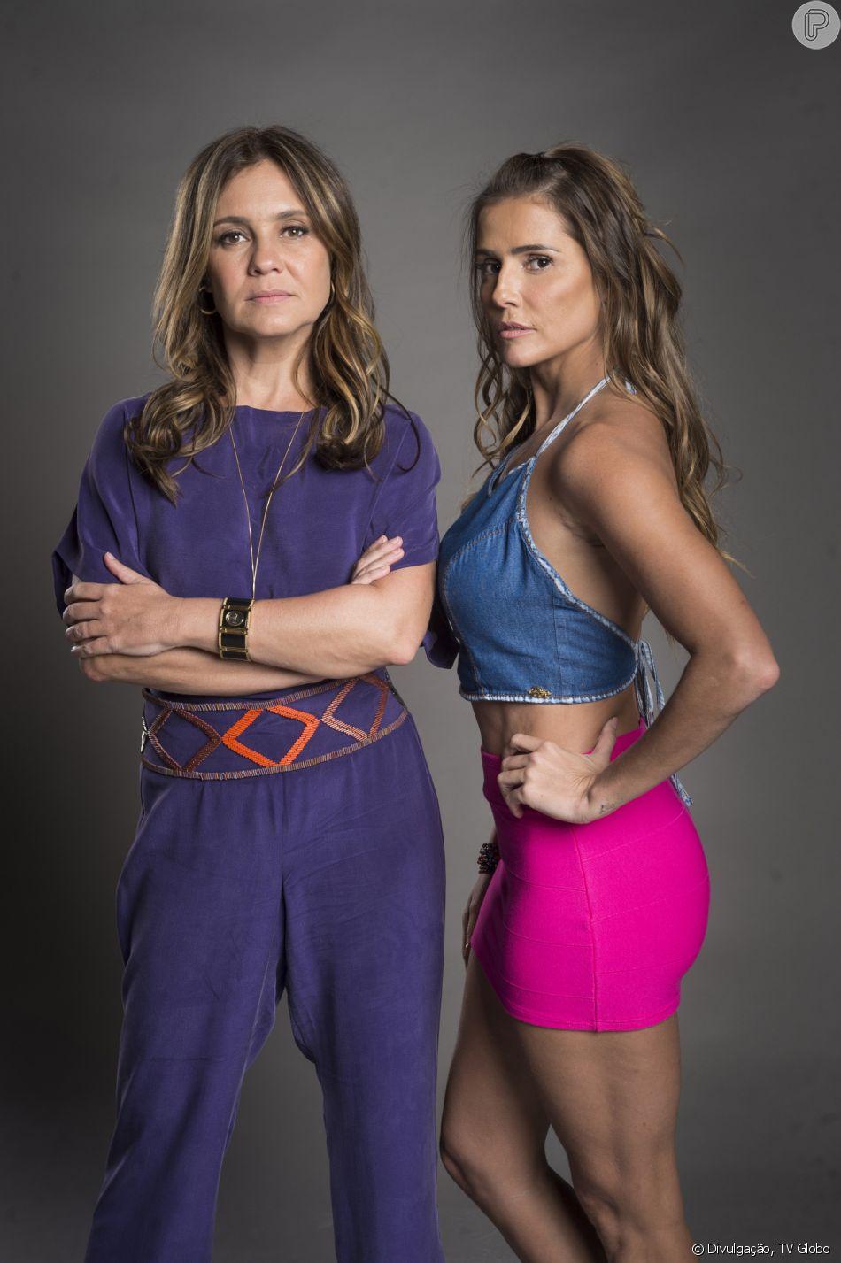 Karola (Deborah Secco) é morta pela mãe, Laureta (Adriana Esteves), na novela 'Segundo Sol', em 1º de novembro de 2018