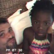 'Papito' maquiado! Gagliasso e a filha, Títi, têm momento de beleza. Vídeo!