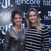 Fernanda Gentil troca carinhos com Priscila Montandon: 'Pra voltar à rotina'