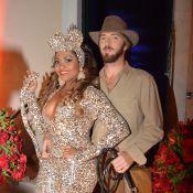 Gaby Amarantos curte festa de aniversário com o novo namorado, Gareth Jones